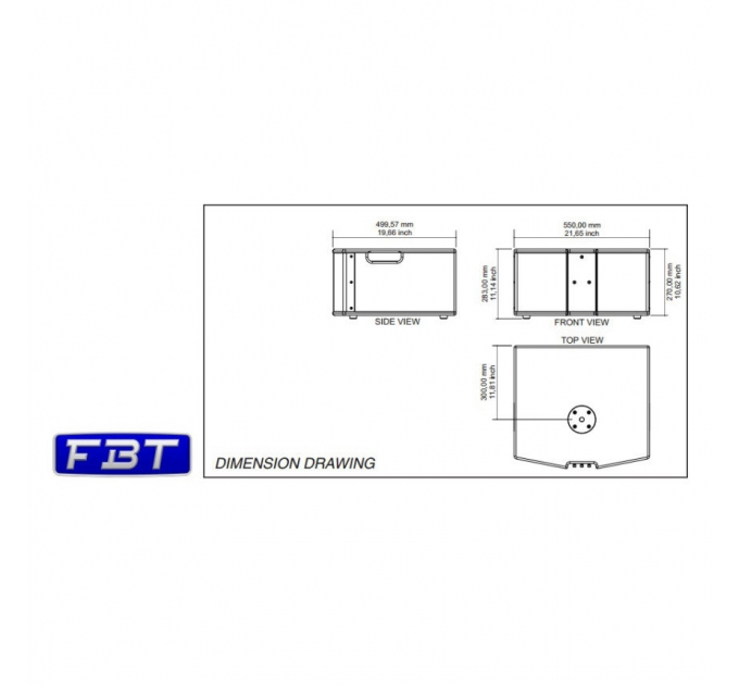 Активный сабвуфер FBT CLA 208 SA