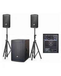 """Акустическая система 2.1 City Sound SB-15A, 15""""+ 2x8"""", 1000 Вт"""