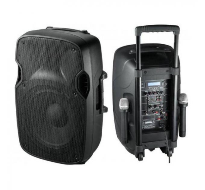 BIG JB12A250-MP3-FM-Bluetooth-MIC - активная акустическая система