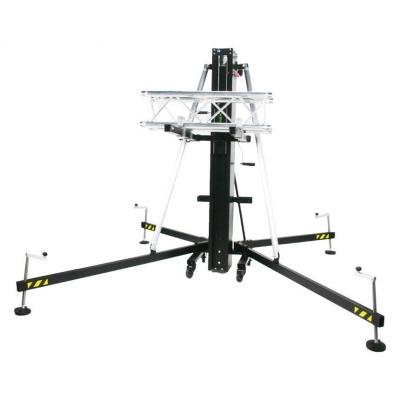 Алюминиевая башня с фронтальной загрузкой и двойной подьемной ручкой лебедки Fenix HERCULES 6.5