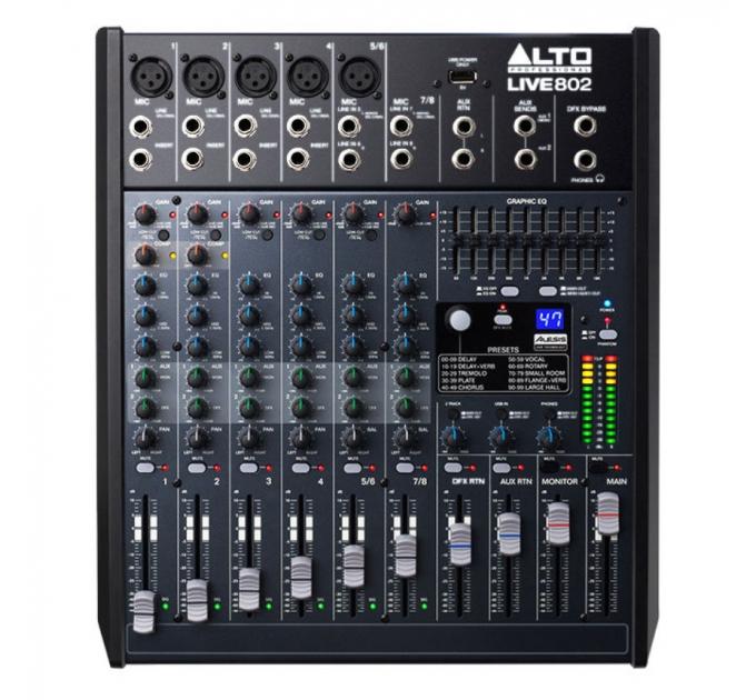 Микшер ALTO LIVE 802