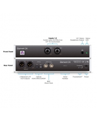 APOGEE ELEMENT 24 2 IN x 4 OUT Thunderbolt Audio interface Аудиоинтерфейс