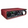 Аудиоинтерфейс Focusrite Scarlett 2i2 USB