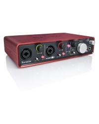 Аудиоинтерфейс Focusrite Scarlett 2i4 USB