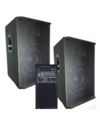 BIG SET2*15-500A активная + пассивная-USB/MP3/FM/BT