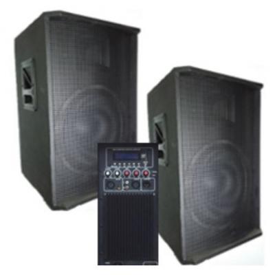 BIG SET2*15-600A активная + пассивная-USB/MP3/FM/BT