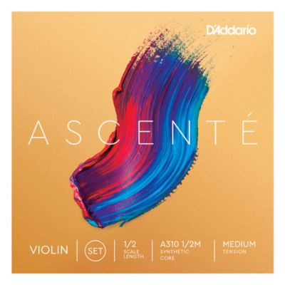 D`ADDARIO A310 1/2M Ascente Violin Strings 1/2M