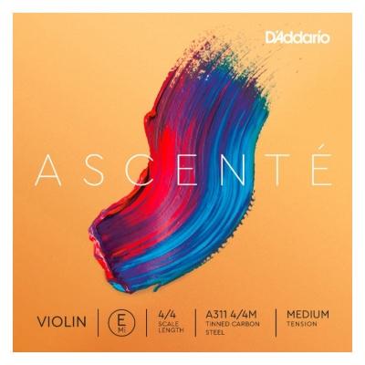 D`ADDARIO A311 4/4M Ascente Violin String E 4/4M