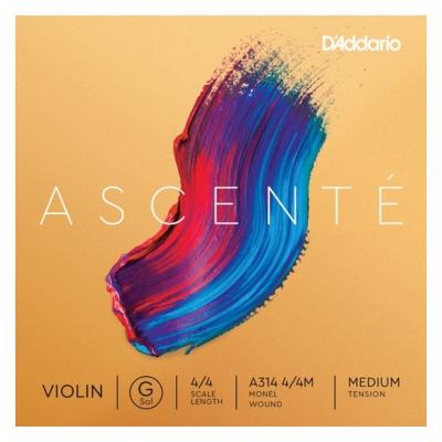 D`ADDARIO A314 4/4M Ascente Violin String G 4/4M