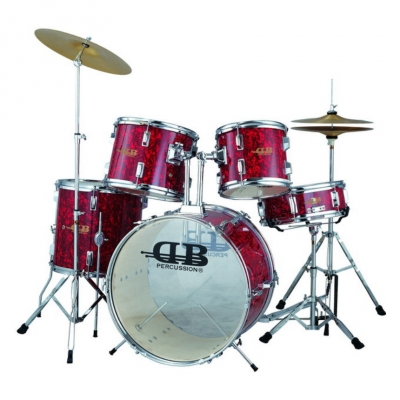 DB Percussion DB52-41 Wine Red