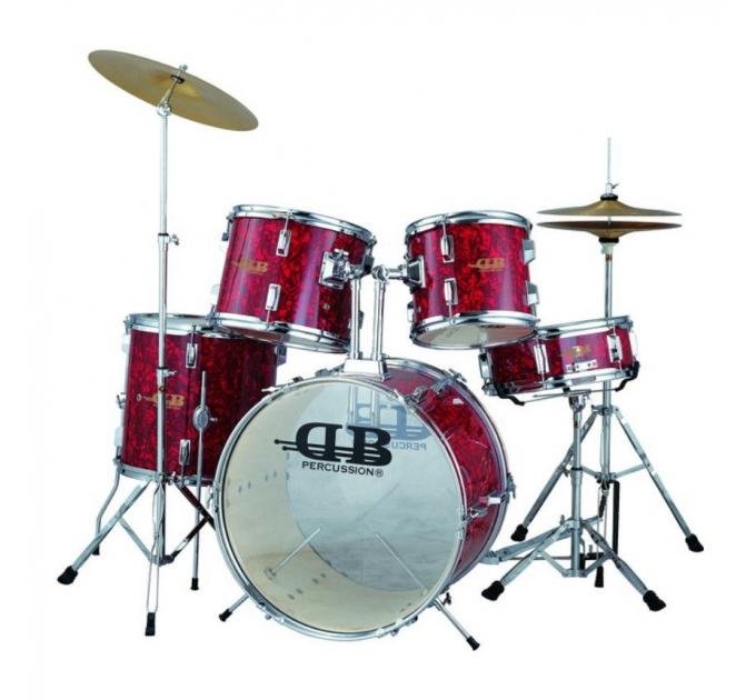DB Percussion DB52-44 Wine Red