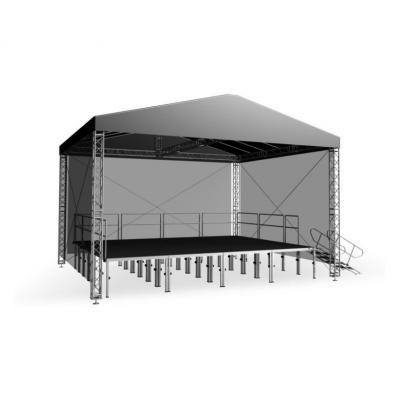 Двускатная крыша Alustage GR Light 8х6