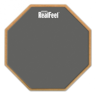 EVANS RF12D 12'' REAL FEEL 2-SIDED PAD