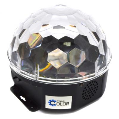 Free Color BALL63 USB LED Crystal Magic Ball