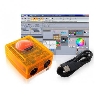USB-DMX Интерфейс FREE COLOR CONTROL 400 SD