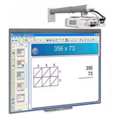 Интерактивная доска SMART Board SBM680V + InFocus InV30