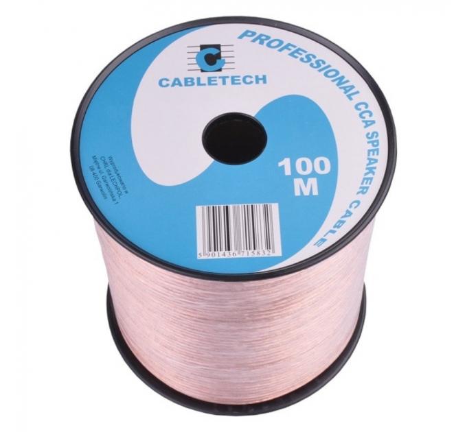 Кабель акустический Cabletech KAB0354, 2 x 0,5 мм, 100 м