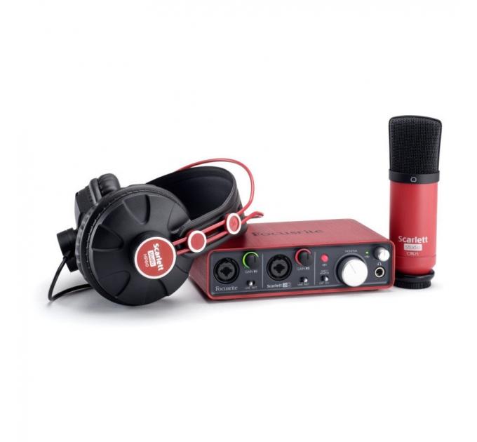 Комплект для звукозаписи Focusrite Scarlett Studio