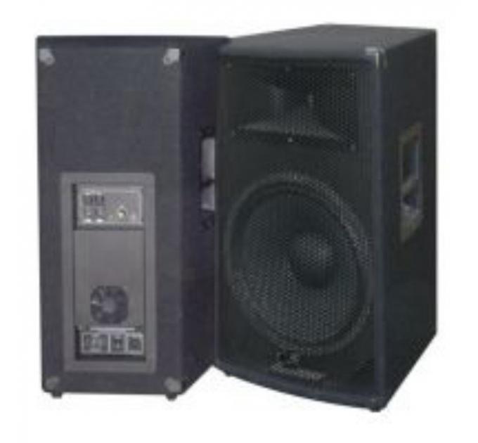 Комплект из 2-х акустических систем City Sound CS-115A-2 700/1400 Вт