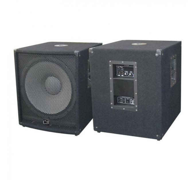 Комплект из 2-х сабвуферов City Sound CSW-15A-2 1000/2000 Вт