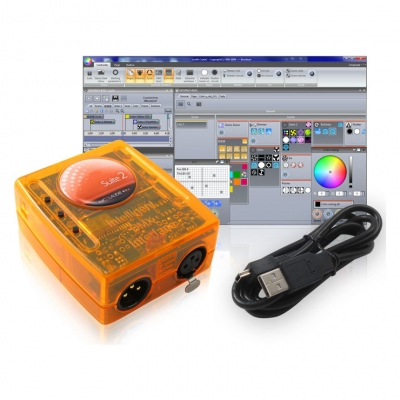 USB-DMX Интерфейс Free Color CONTROL 400 PC