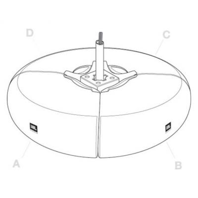 Крепление для акустических систем JBL PMB-BK