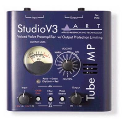 Ламповый микрофонный предусилитель ART Tube MP Studio V3