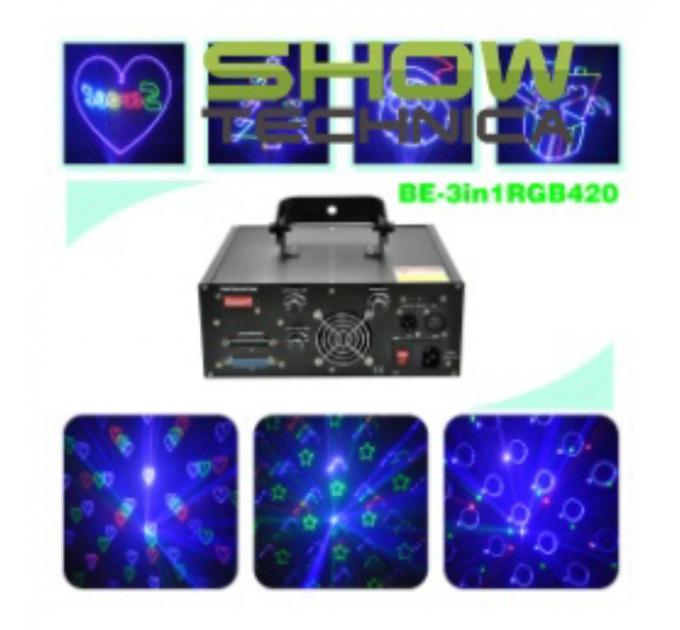 Лазер BIG BE3in1RGB420