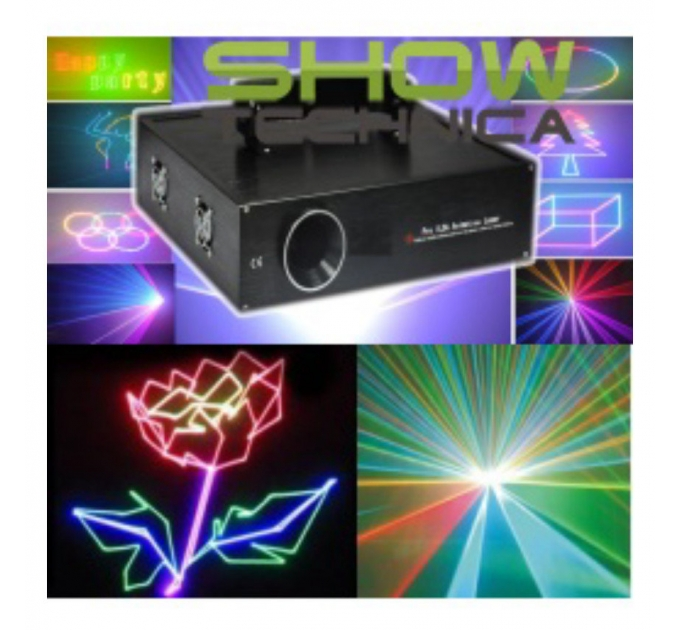 Лазер BIG BEVS18-410RGB