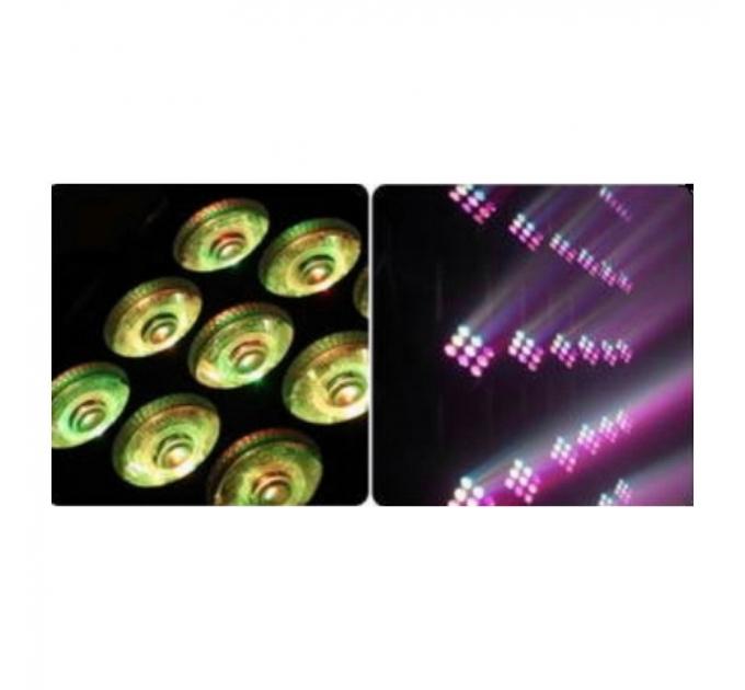 LED Голова New Light NL-1038 LED MOVING HEAD MATRIX LIGHT9шт.x10W (4 в 1)