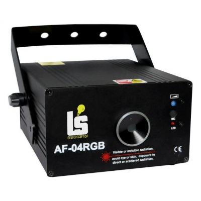 Light Studio AF04RGB Лазер RGB с рисунками 500мВт