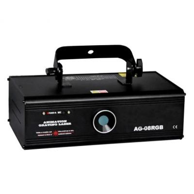 Light Studio AG-08RGB Лазер RGB с рисунками 500мВт