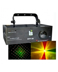 Light Studio BTF-3S Лазер красно-зелено-желтый 160мВт