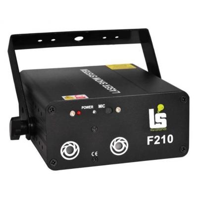 Light Studio F210 Лазер красно-зеленый 200мВт