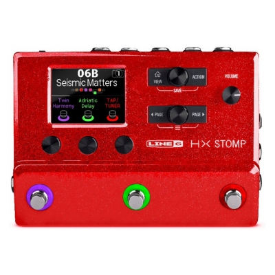 LINE6 HX Stomp Limited Edition Red