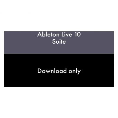 Ableton Live 10 Suite, EDU