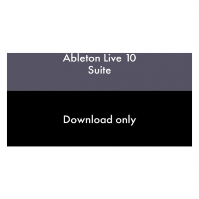 Ableton Live 10 Suite, UPG from Live Intro