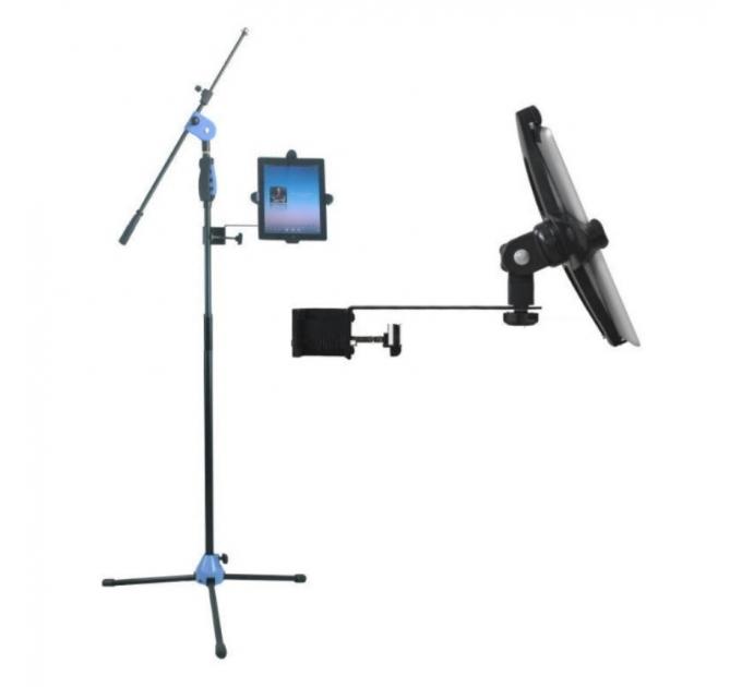 Микрофонная стойка мультифункциональная Emiter-S MS007-IPDS с держателем для IPAD