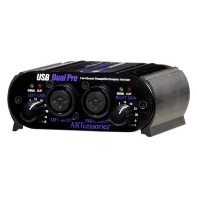 Микрофонный предусилитель ART USB Dual Pre PS
