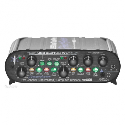 Микрофонный предусилитель ART USB Dual Tube Pre