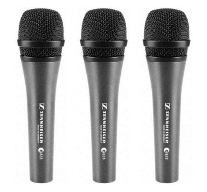 Микрофоны Sennheiser 3-PACK E 835