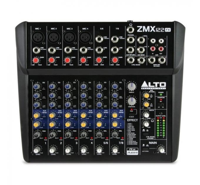 Микшер ALTO PROFESSIONAL ZMX122FX