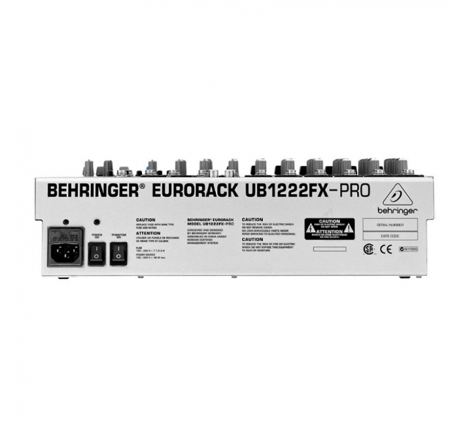 Микшерный пульт BEHRINGER UB1222FX-PRO