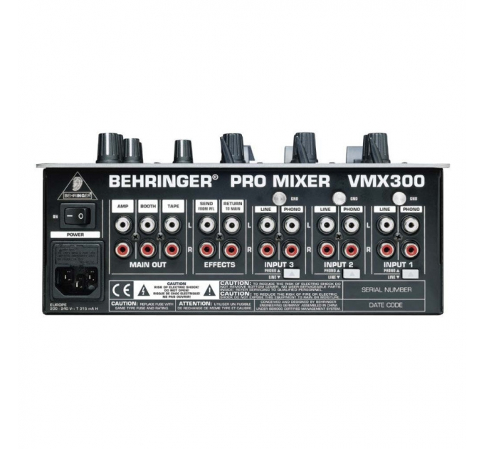 Микшерный пульт BEHRINGER VMX300