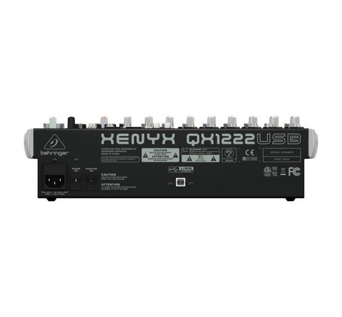 Микшерный пульт BEHRINGER XENYX QX1222USB