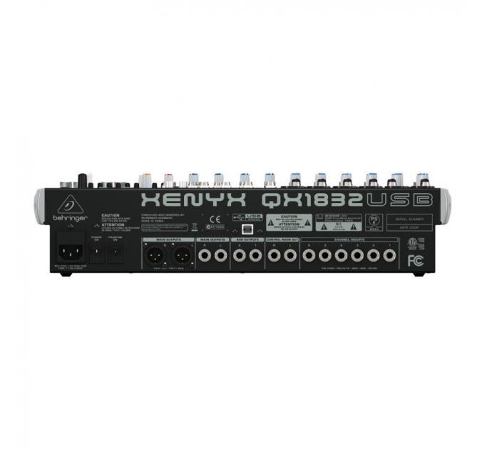 Микшерный пульт BEHRINGER XENYX QX1832USB