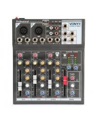 Микшерный пульт Vonyx VMM-F401 4-Channel Music Mixer