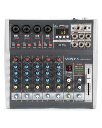 Микшерный пульт Vonyx VMM-K602 6-Channel Music Mixer with DSP