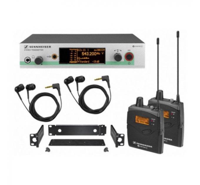 Мониторинговая система Sennheiser EW 300-2 IEM G3