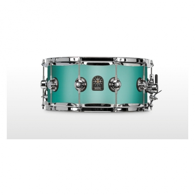 NATAL DRUMS CAFE RACER SNARE 14x6.5 SEA FOAM GREEN Малый барабан